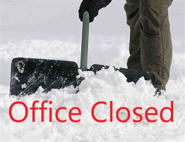 Office CLOSED Today