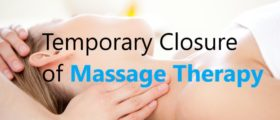 Temporary Massage Therapy ...